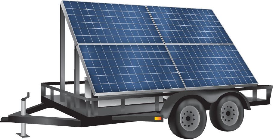 trailer mounted solar